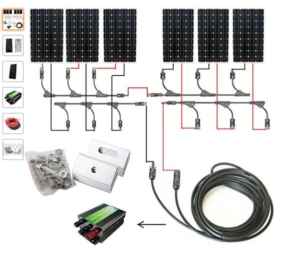 Solar Kit, Off grid Solar