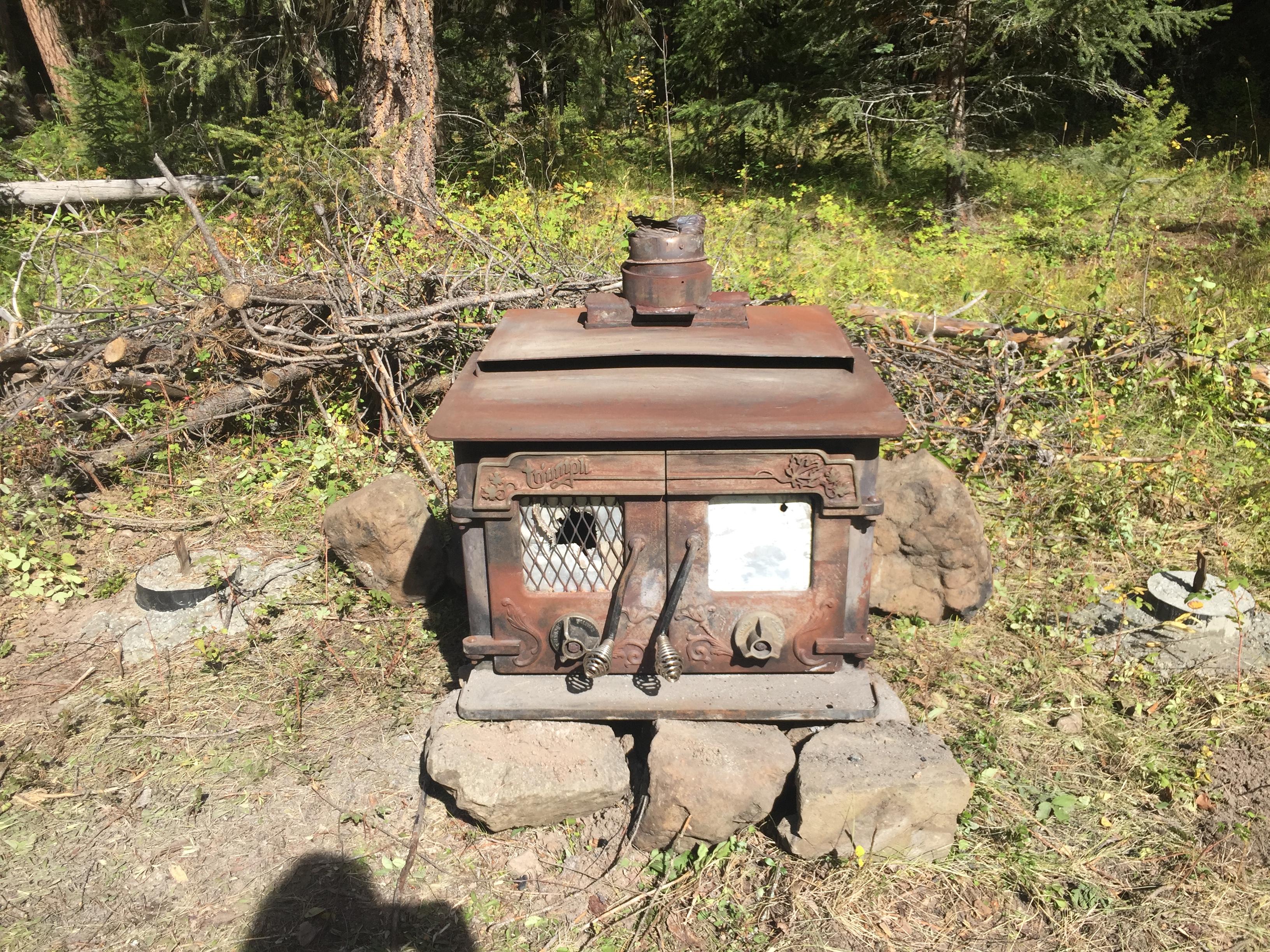 Wood stove, Outdoor Wood Stove